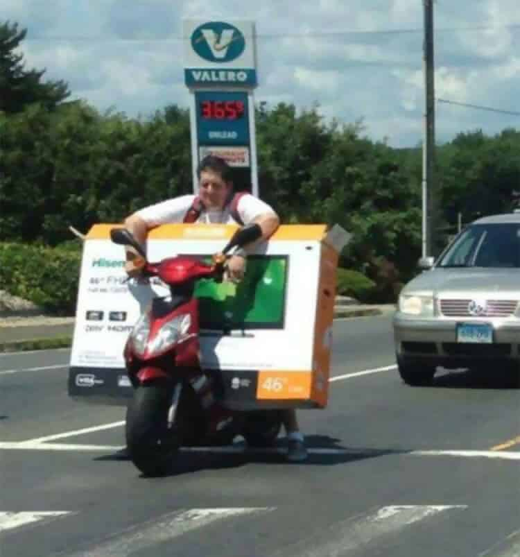 """""""No. I don't want a Home Delivery, I'll Carry it Myself"""""""