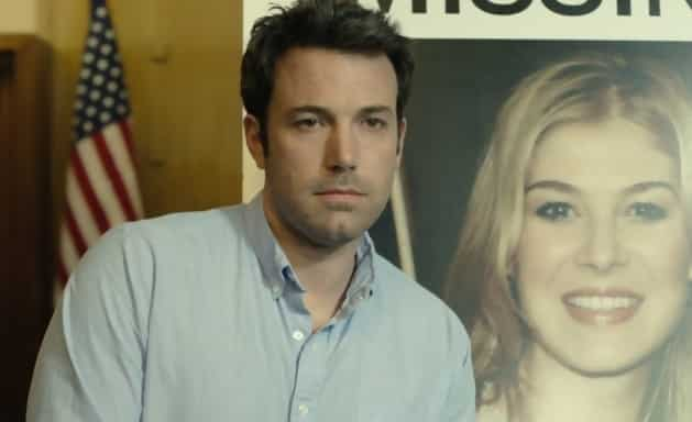 Ben Affleck in the Gone Girl trailer.