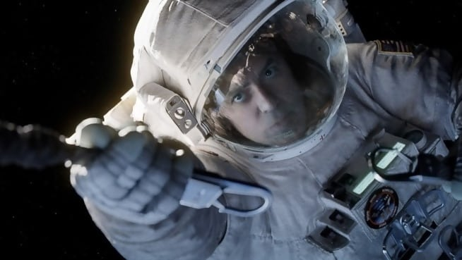 George Clooney's minor role in Gravity