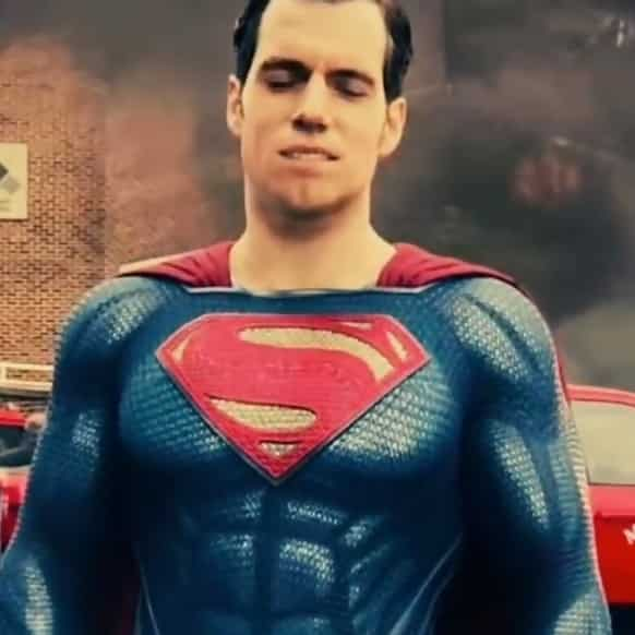 Superman, mustache CGI, bad CGI