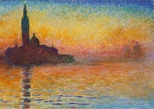 Reproduction oil paintings - Claude Oscar Monet - San Giorgio Maggiore At Dusk